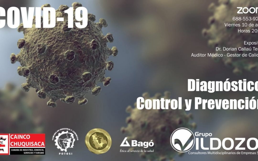 Curso: 𝗖𝗢𝗩𝗜𝗗-𝟭𝟵 Diagnóstico, control y prevención