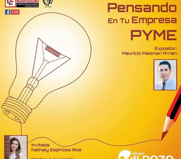 "Webinar ""PENSANDO EN TU EMPRESA PYME"""