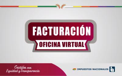 Guía: Facturación oficina virtual