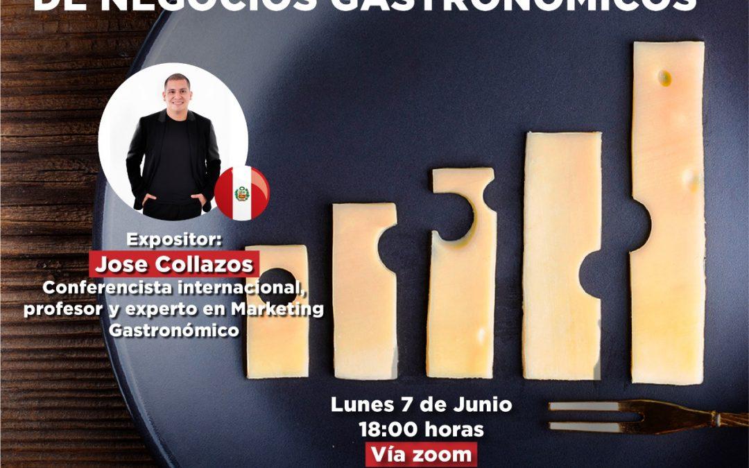 """Webinar Internacional """"Rentabilidad de negocios Gastronómicos"""