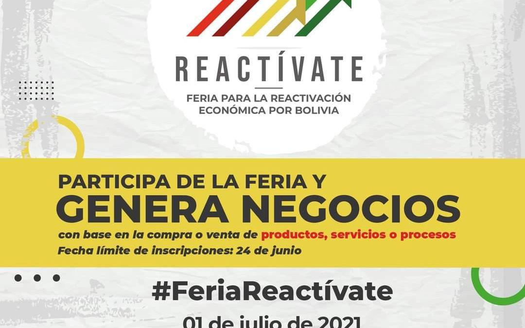 """""""Feria Reactívate"""""""