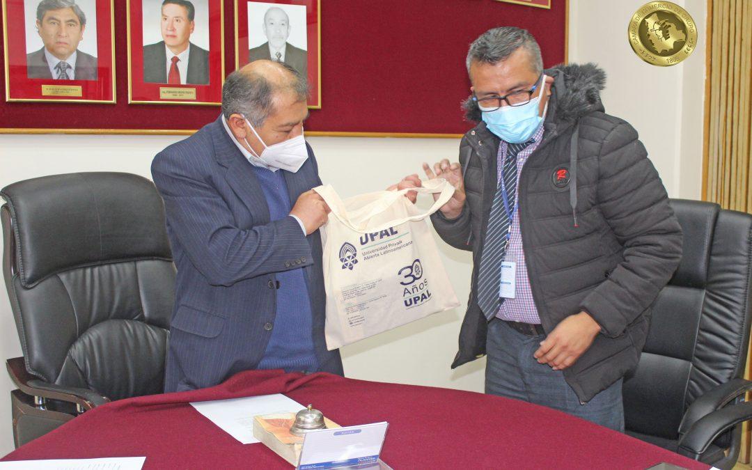 Cámara de Comercio de Oruro presentó propuestas UPAL – Universidad Privada Abierta Latinoamericana