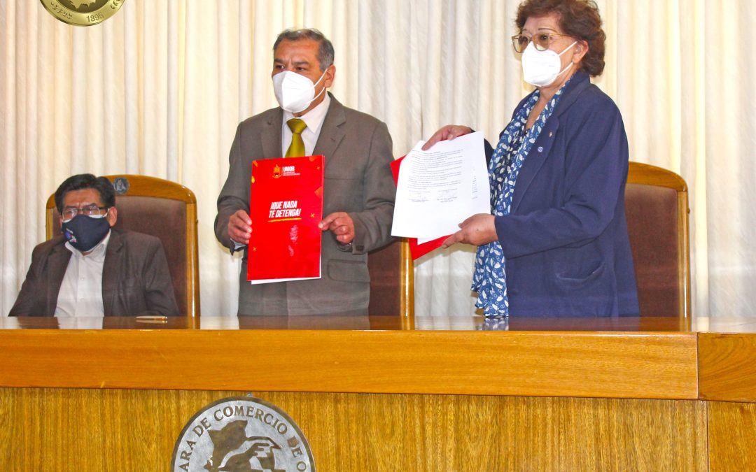 CONVENIO DE COOPERACIÓN INTERINSTITUCIONAL CCO – UNIOR