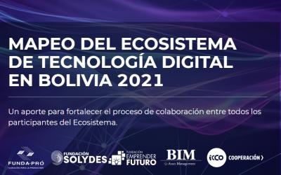 Mapeo TIC 2021:Mejor información, más innovación