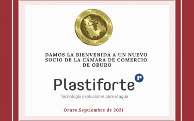 Nuevo Socio PLASTIFORTE S.R.L.