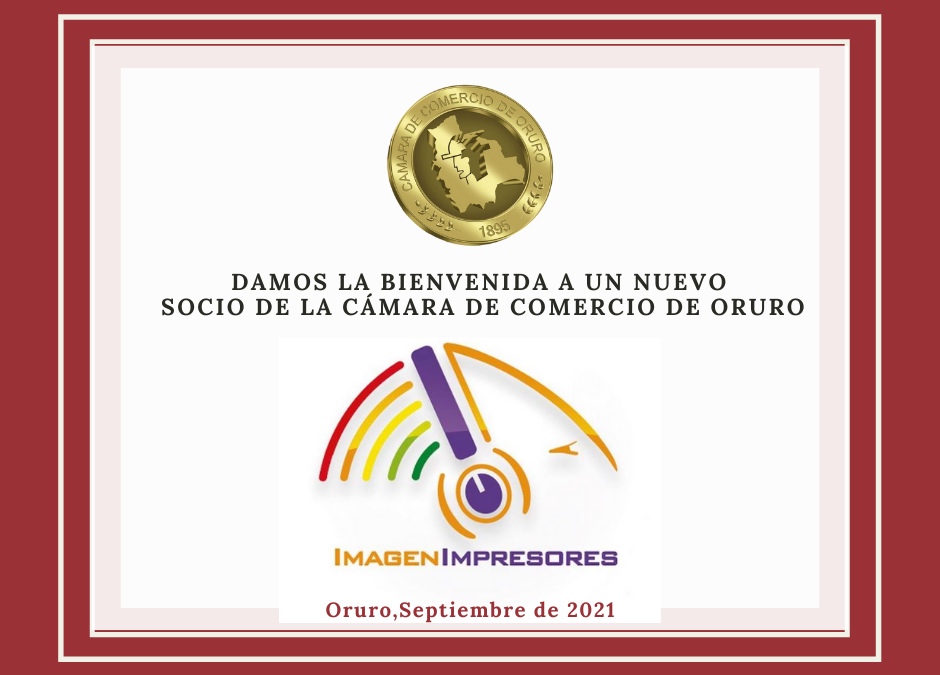 """Nuevo Socio Lic. Gustavo Llano Méndez de la Empresa """"IMAGEN IMPRESORES"""""""