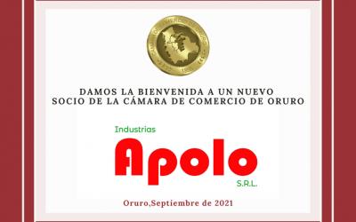 Nuevo socio: Industrias Apolo S.R.L.